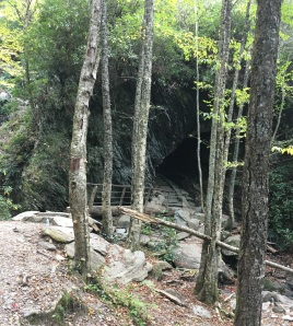 Hiking in the SM--The cave
