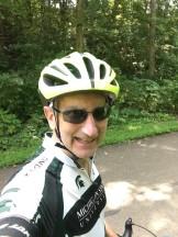 Selfie on the paved bike trail