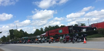 Bikes for the Blues and BBQ weekend in Bentonville