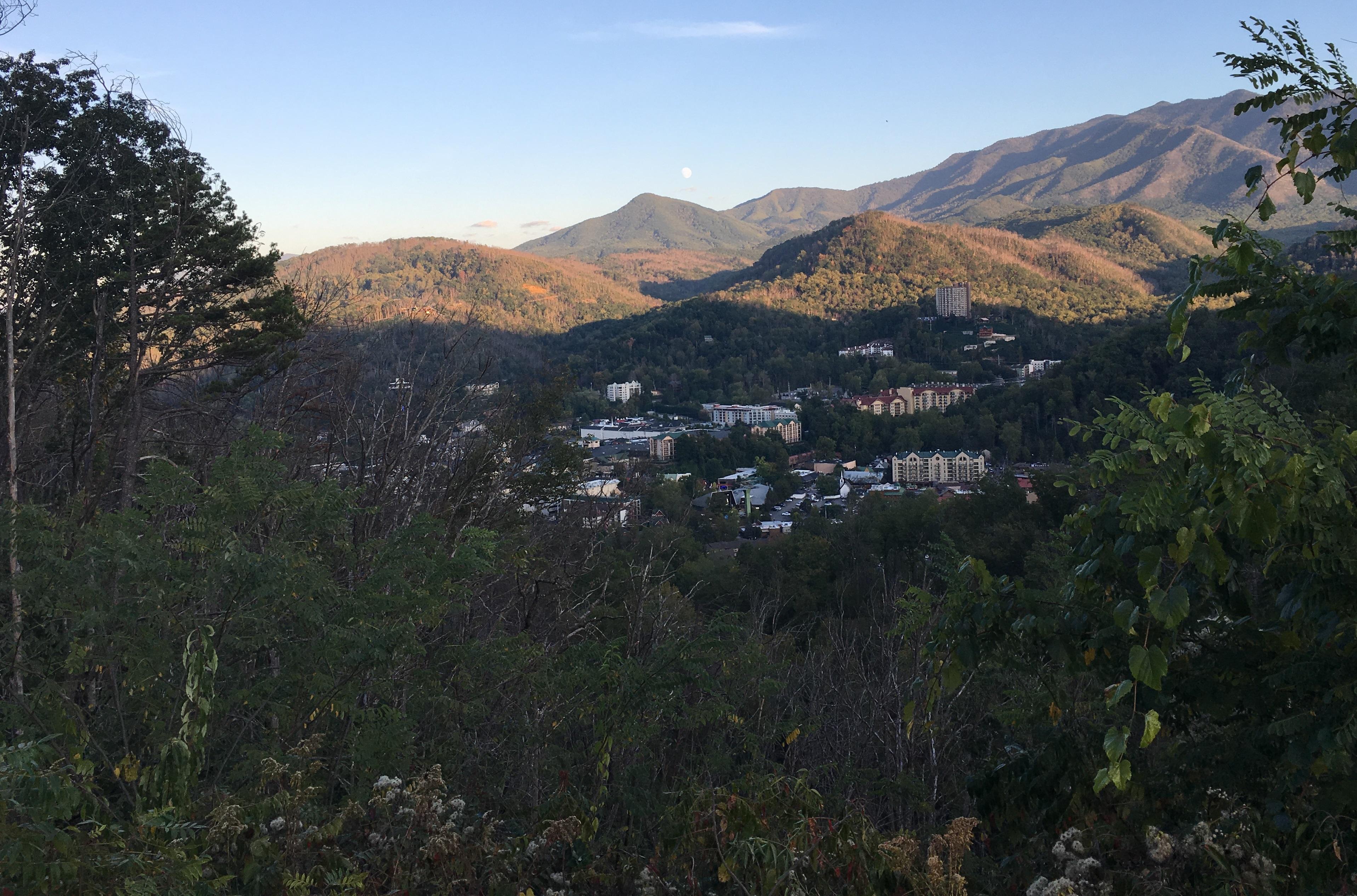 View of Gatlenburg
