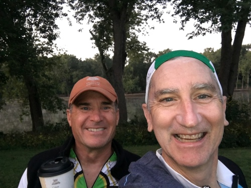 Wabash River--Glen and Mike