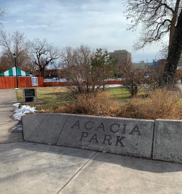 Park enterence