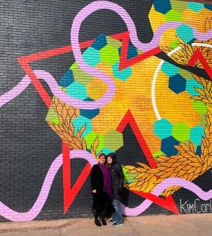 Downtown art work