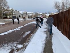CS Snowball fight