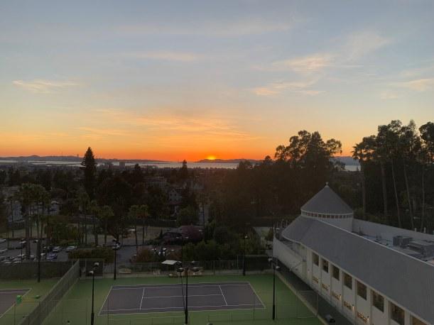 Sunrise at Hotel